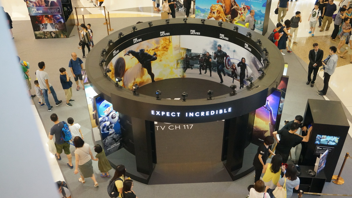 Fox Movies Expect Incredible 360 Time Slice