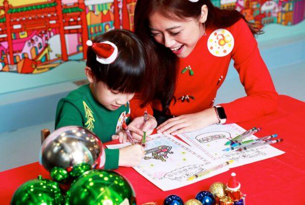 Messy Desk 聖誕童夢樂園